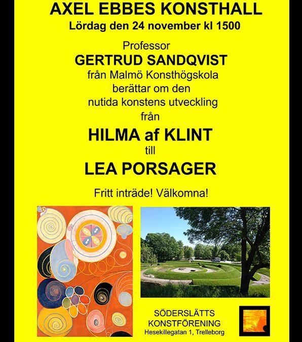 Föreläsning Gertrud Sandqvist